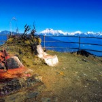 view from kalinchowk temple