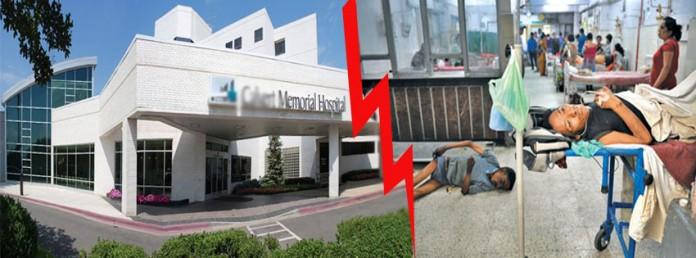 hospital poor vs ministers