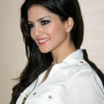 Sunny Leone in Cute White