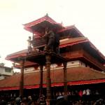 Kasthamandap during Indrajatra