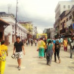 Newroad during Indra Jatra