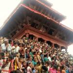 People in Indrajatra