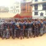 police preparing for mass management indrajatra